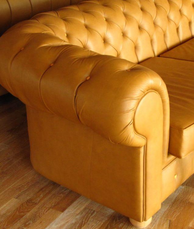 Профессиональная чистка кожаной мебели